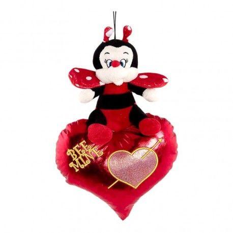 Mariquita Corazón Brillante