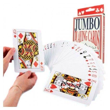 Cartas de Póker Gigantes