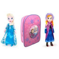 Muñecas Frozen + Mochila Regalo