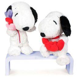 Peluche Snoopy Corazones