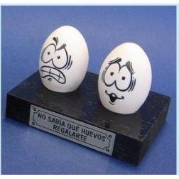 """Regalo Original """"Qué huevos regalarte"""""""