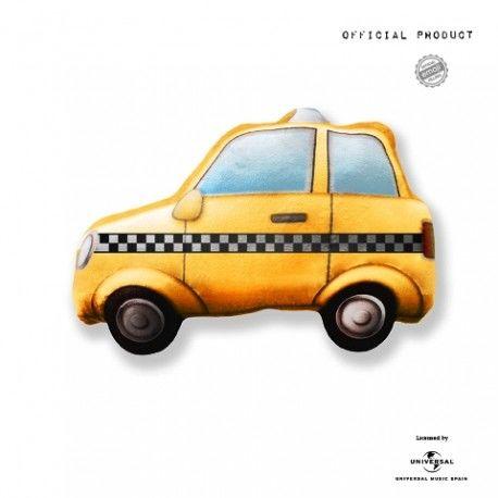Cojín Emoticono Taxi