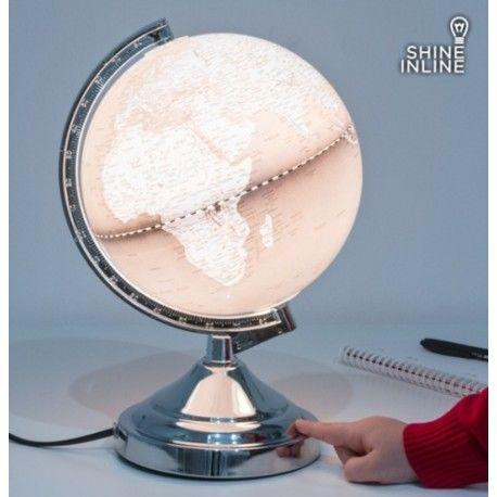 Bola del Mundo Lámpara