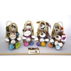 Mini Peluches Pack 4 Animales