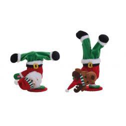 Papá Noel y Reno bailando Rap