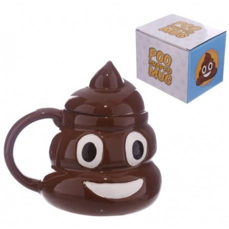 Taza Emoticono Caca
