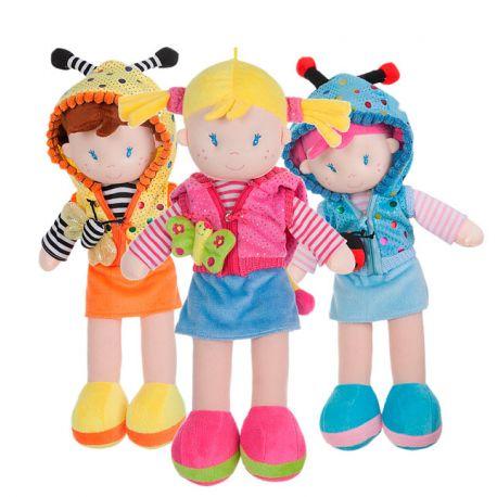 Muñecas de Trapo con capucha