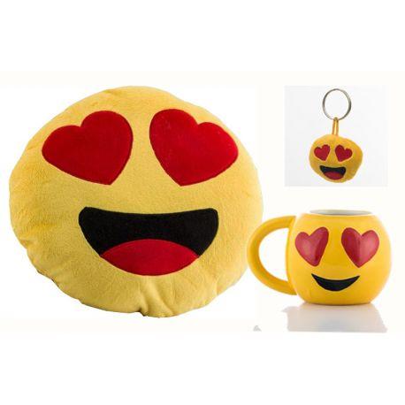 Lote emoticonos enamorados