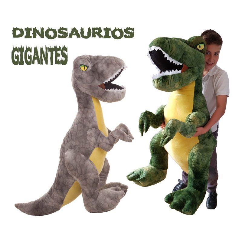 Comprar Dinosaurios Gigantes Precio Economico Y Envio 24h Peluchilandia Desde su descubrimiento y debido a su gran tamaño son dinosaurios muy retratados, la mayoría lo puedes encontrar en documentales tales como gigantes de la patagonia o chased by dinosaurs. dinosaurios de peluche gigantes t rex
