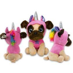 Peluche perrito - unicornio
