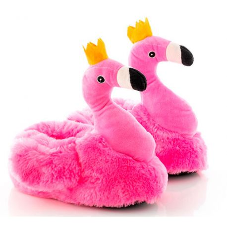 Zapatillas flamenco rosa