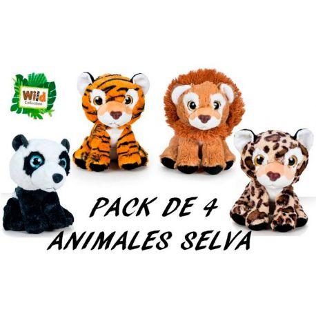 Animalillos de Selva Colección Pack 4