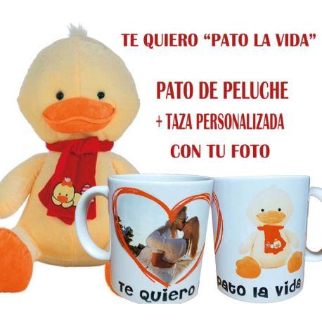 Peluche + taza con tu foto