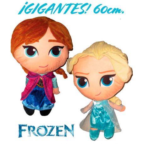 Muñecas Gigantes Elsa y Anna