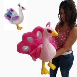 Peluche Pavo Real