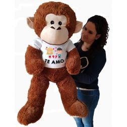 Peluche de Mono Gigante Personalizado