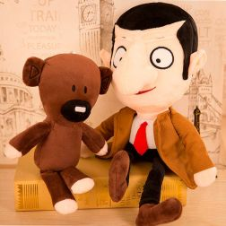 Peluche Mr. Bean y su osito Teddy