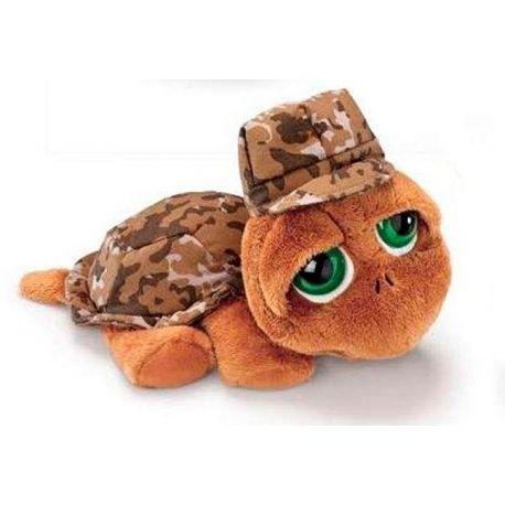 Peluche tortuga camufaje
