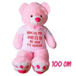 Osito rosa personalizado