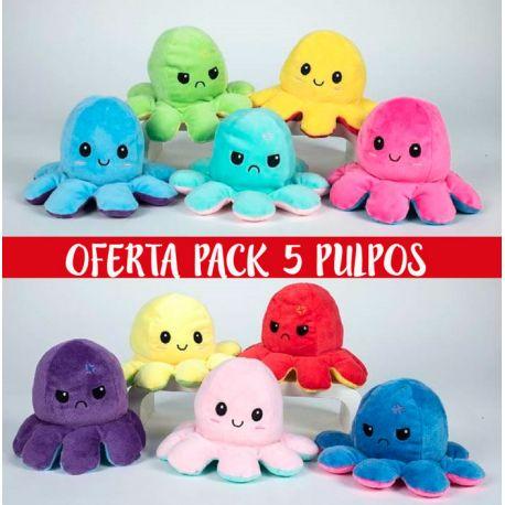 Pulpos Reversibles pack Oferta