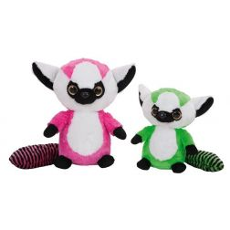 PELUCHE MAPACHES OJOTES 25 CM