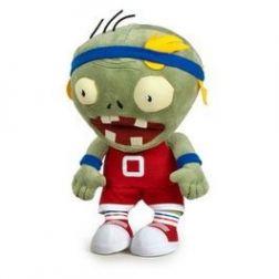 Peluche zombie deportista Plantas contra Zombies