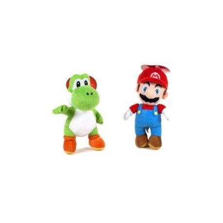 Peluche Mario + Yoshi Nintendo