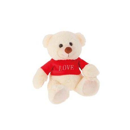 Osito Enamorado camiseta Love 27 cm.